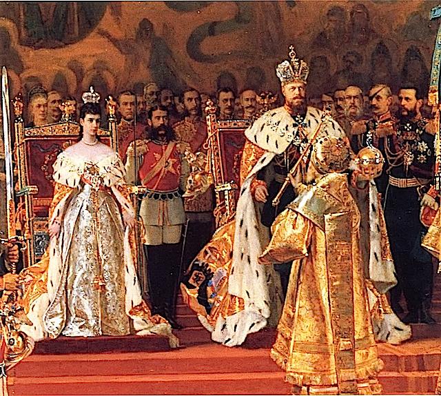 Жетон в память коронования Императора Александра III, 15 мая 1883 г., медно-никелевый сплав