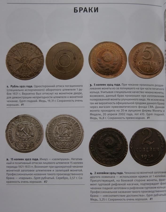 Список учета монет 1921 1957 все купюры россии