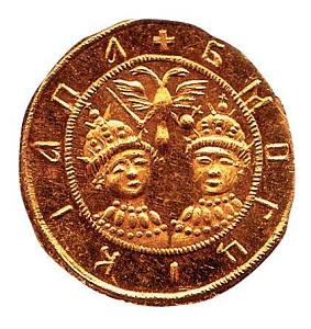 Золотой с царевной софьей / форум нумизматов / старая монета.